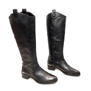 Louise et Cie Black Leather Riding Boots